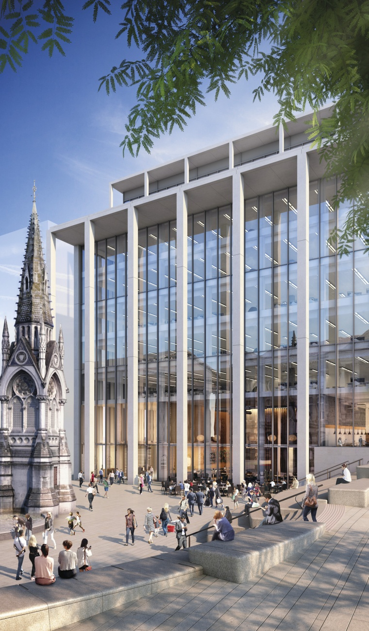 Contractor for Two Chamberlain Square announced