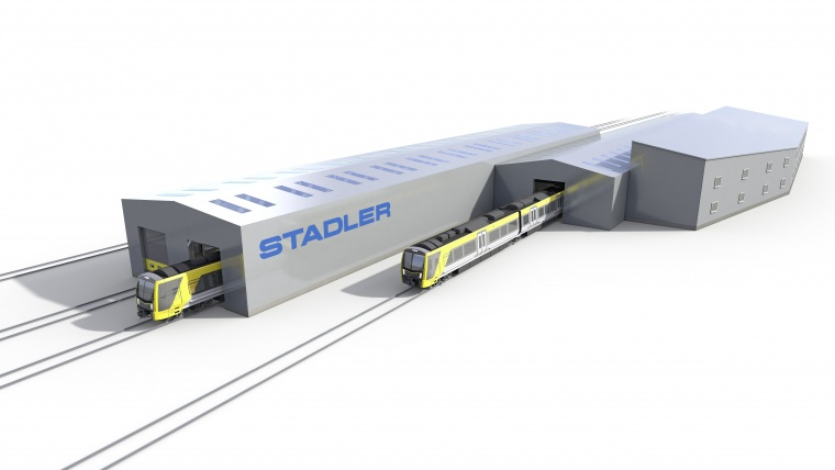 BAM wins train depot refurbishment schemes with Stadler UK