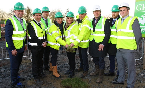 Northern Ireland Health Minister cuts first sod on major Belfast Health project