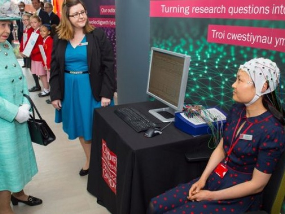 The Queen opens Brain Research Imaging Centre