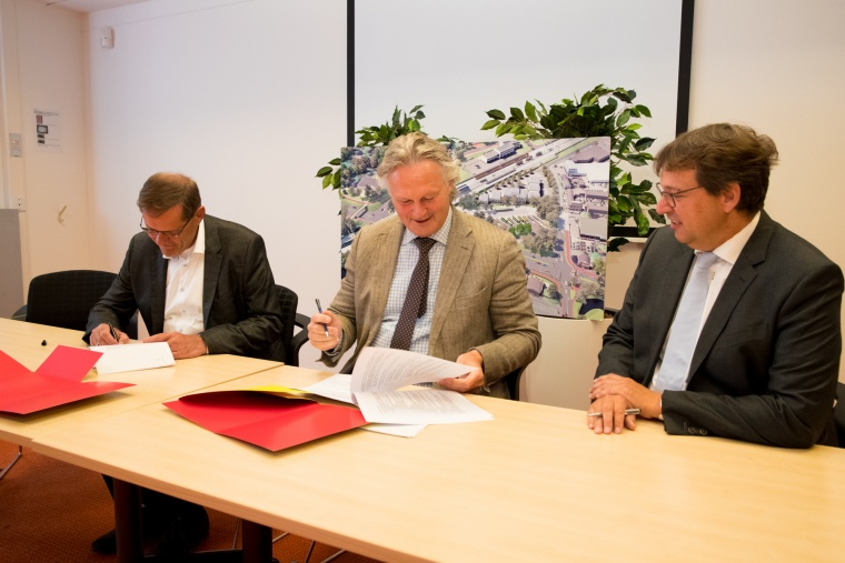 ProRail commissions BAM for new rail station Driebergen-Zeist contract