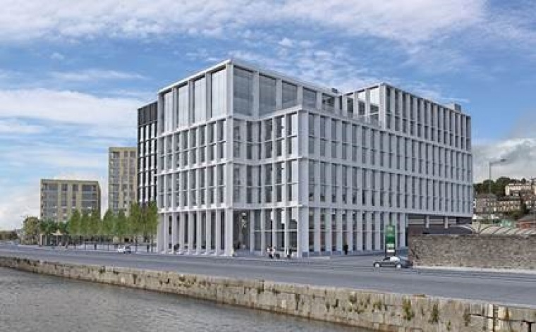 Plans unveiled for prime waterfront site at Horgan's Quay, Cork