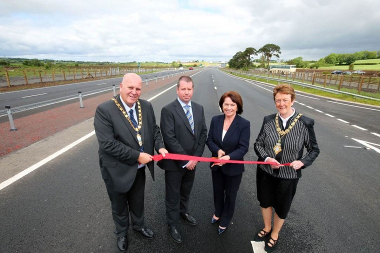 Official opening of the A26 Frosses Road Dualling Scheme