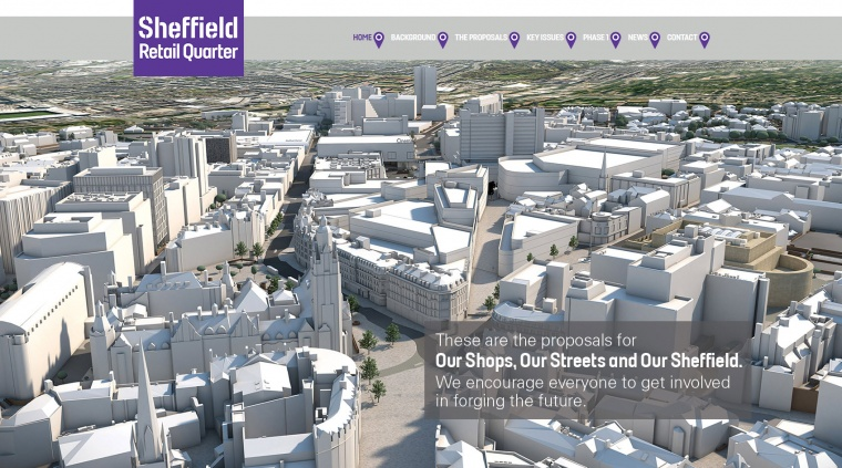 Chance to get inside construction industry and Sheffield's largest city centre development