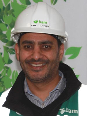 Paul Virdi, project manager
