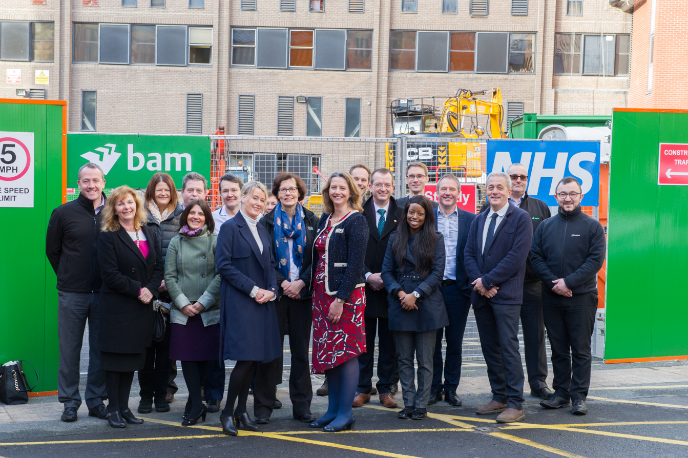 Work Begins On New Theatre Development At Leeds Children S Hospital Koninklijke Bam Groep Royal Bam Group