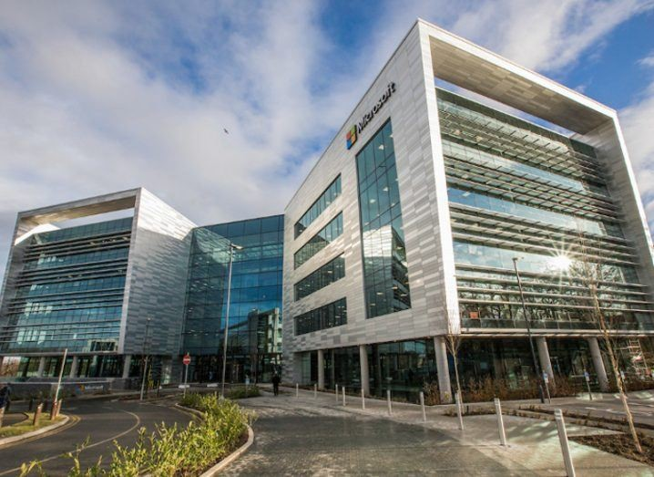 official opening of bam delivered microsofts hi tech hq at leopardstown