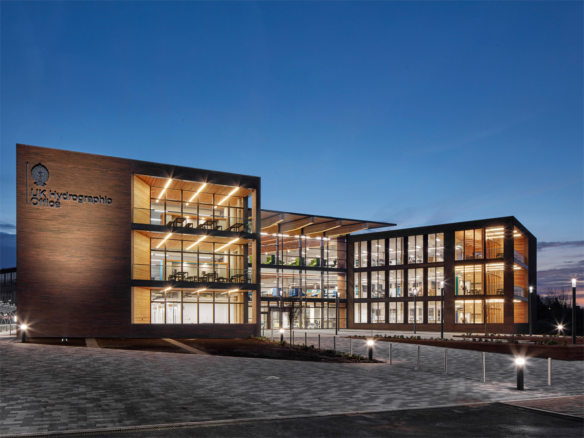 New Taunton headquarters for the UK Hydrographic Office