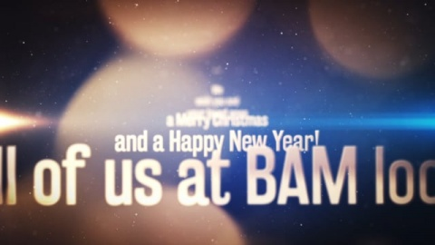 BAM 2018 Merry Christmas and a Happy New Year