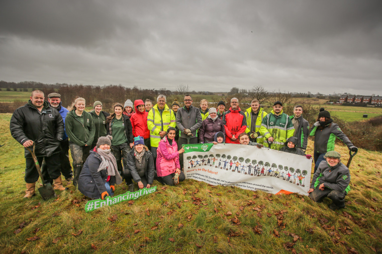 BAM plants last of 150,000 trees to mark end of 150th anniversary