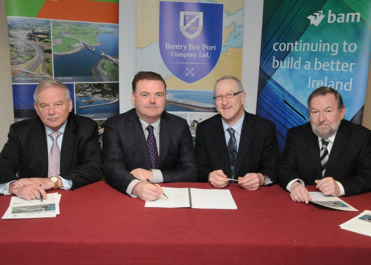 Bantry Bay Port Company Appoints BAM Civil Ltd on Bantry Inner Harbour Development