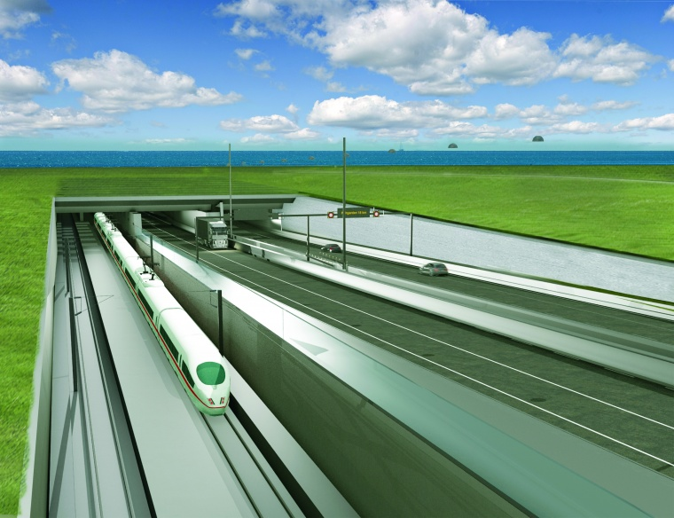 Danish government and Femern Link Contractors sign contracts for the Femernbelt Link - world's longest immersed road and rail tunnel