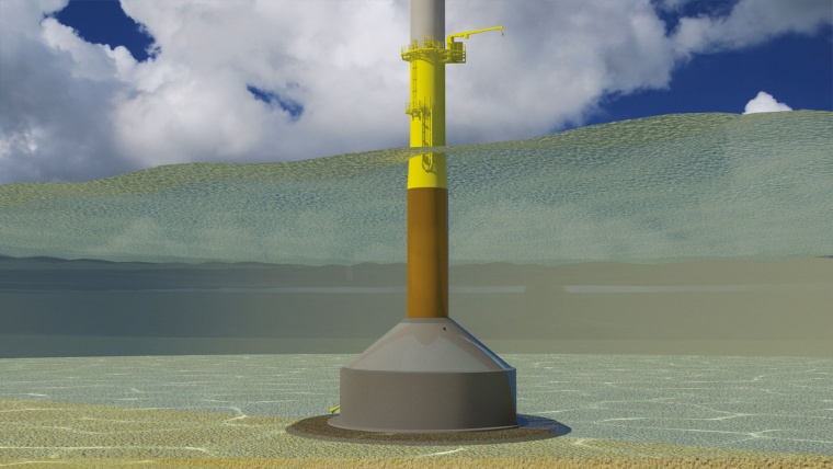 BAM's contract with EDF signals a worldwide first for leading edge Gravity Base Foundation solutions