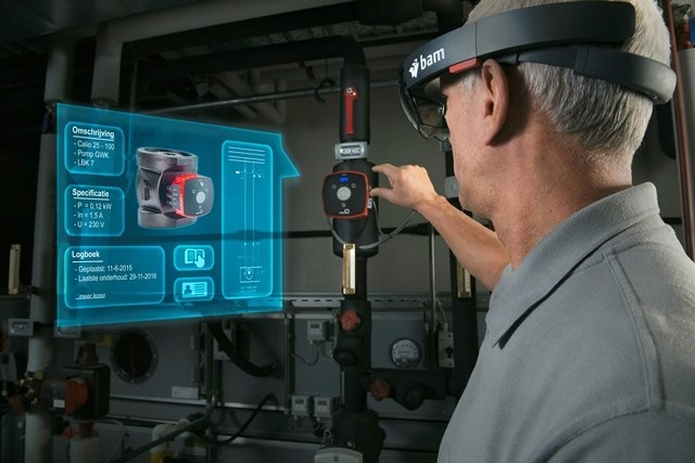 BAM takes it to the next level with the Microsoft HoloLens