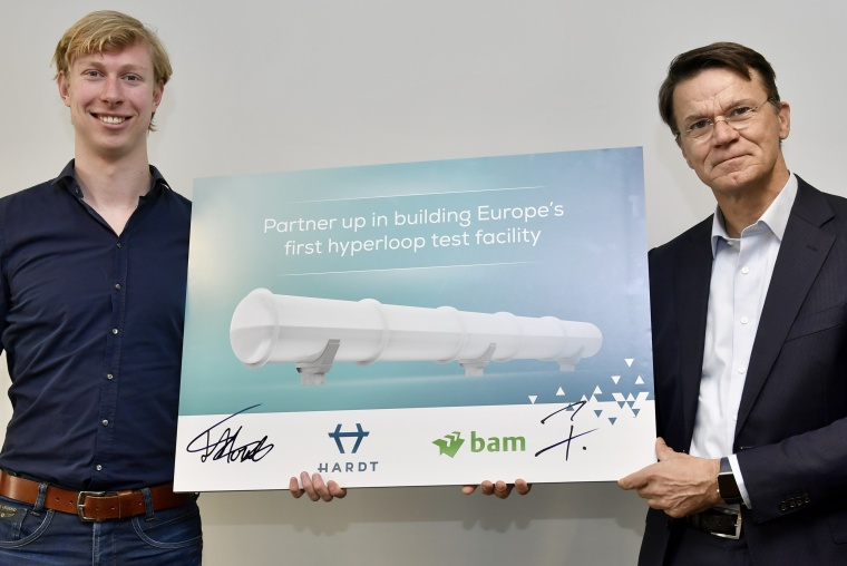 HARDT Global Mobility creates partnership with BAM for Europe's first hyperloop test facility