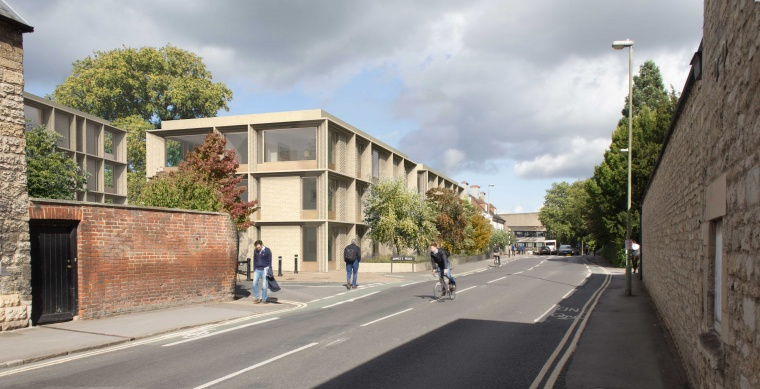 BAM appointed by Balliol College, Oxford to create new student accommodation
