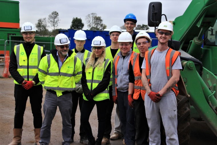 West London scheme gives eight young people an apprenticeship