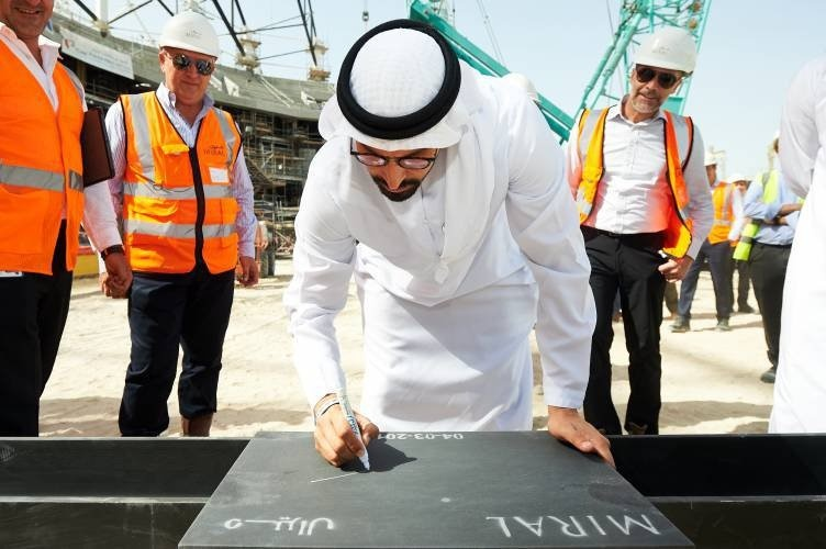Miral marks a major step towards Yas Bay Arena's completion