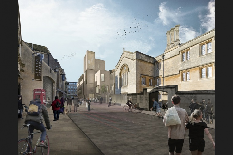 BAM chosen to deliver new £36 million Jesus College Oxford scheme