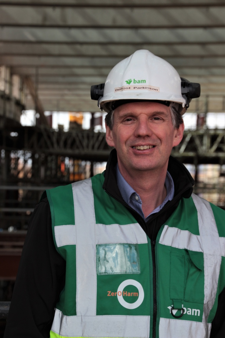 Wellington man Dermot shortlisted for UK construction honours