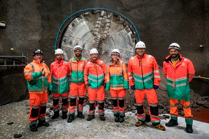 First tunnelling machine breaks ground on super sewer