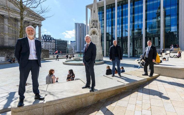 Chamberlain Square re-opens at Paradise