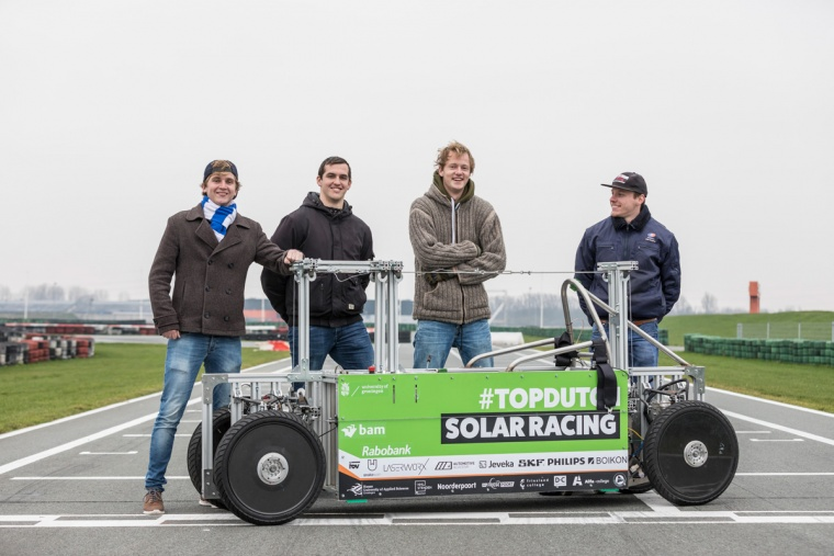 TopDutch Solar Racing team