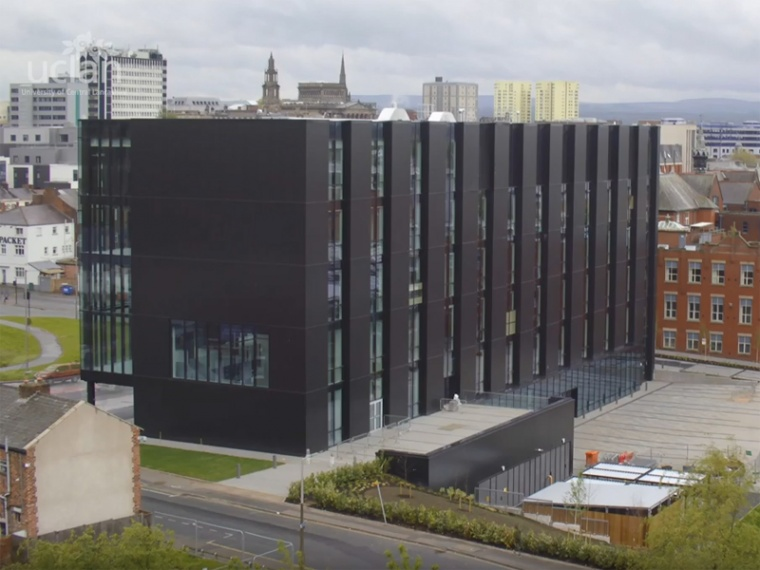 UCLan's Engineering Innovation Centre