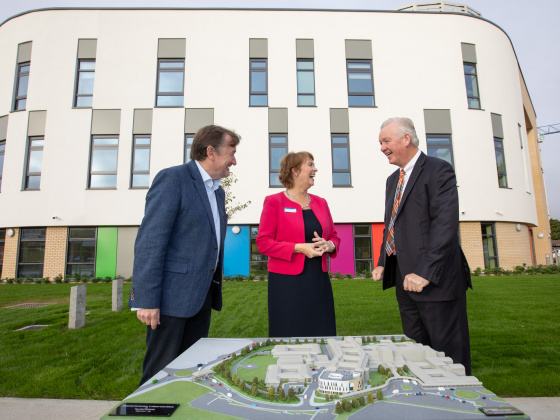 Another Major Milestone achieved for the new children's hospital project with the substantial completion of the Outpatient & Emergency Care Unit, CHI at Tallaght