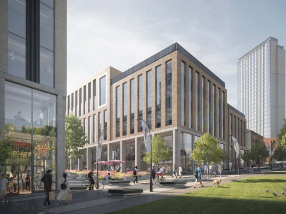 Plans to develop Sheffield Hallam University's city campus approved