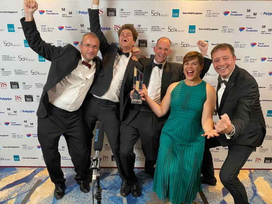 BAM's UWE School of Engineering building named Project of the Year at British Construction Industry Awards