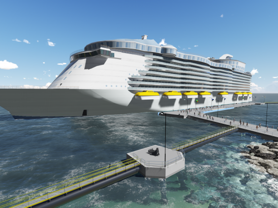 BAM to design and construct new mega cruise pier in Curaçao