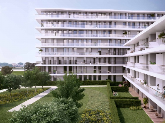 Interbuild wins contract for apartment buildings in Antwerp