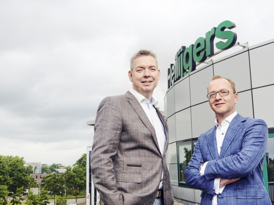 Management Heilijgers: Rob Jansen (left) and Arjan van Asselt.