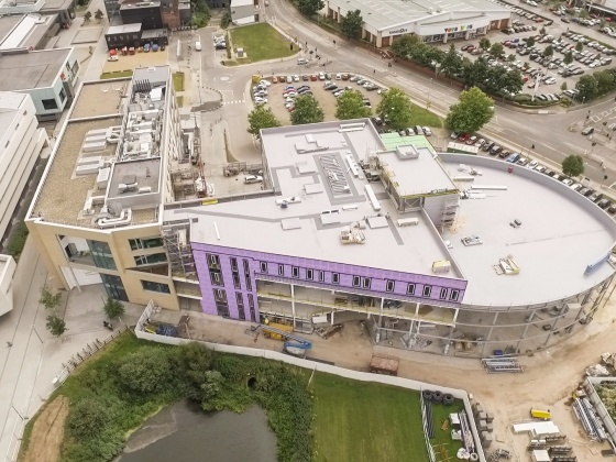 50,000 man hours of construction and zero harm at University of Lincoln's £17.5 million new Isaac Newton Building