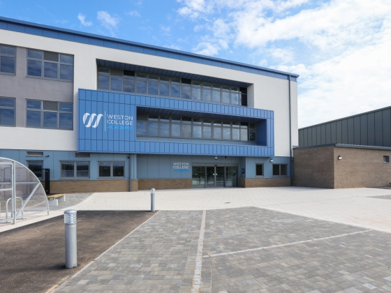 Weston College Academy building complete