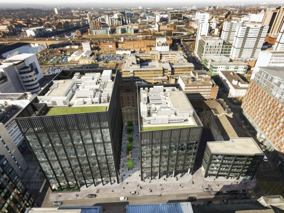 Development of Grade A office space at Atlantic Square, Glasgow to start in March for major UK Government hub