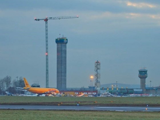 New IAA Air Traffic Control Tower at Dublin Airport will facilitate Parallel Runway Operations by 2021 and be one of the Tallest Structures in Ireland