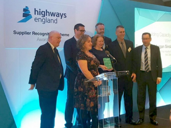 BMV JV M5 Oldbury Viaduct Scheme wins Highways England Award