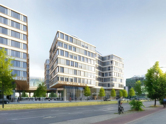 EDGE Technologies awards BAM contract for EDGE Grand Central office building in Berlin