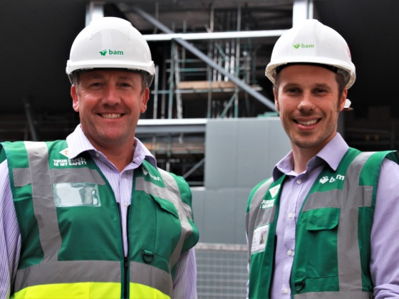 Builders reveal why new theatre facilities at Leeds Children's Hospital mean so much to them