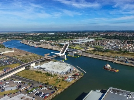Contractor announced and designs to be finalised for Lowestoft's Lake Lothing Third Crossing