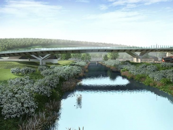 BAM wins jv contract for Patton bridge in Luxembourg. © Schroeder & Associés 2017.