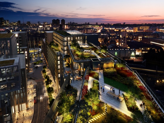 Ambitious office development at King's Cross takes next step with contractor appointment
