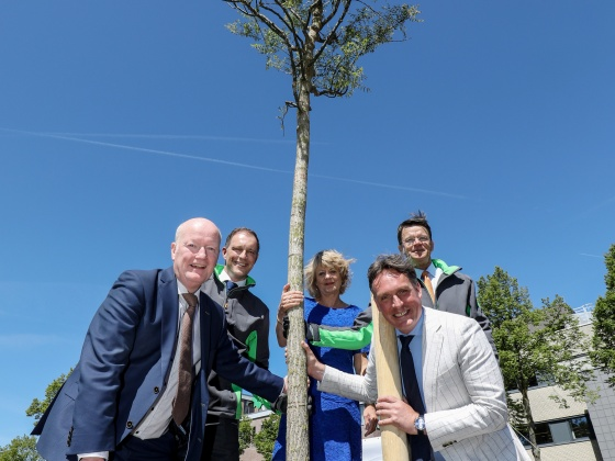 BAM donates tree to municipality of Bunnik for its 150th anniversary