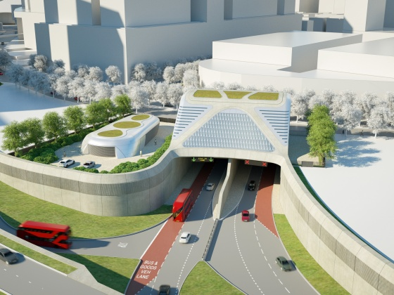 RiverLinx consortium selected to deliver London's Silvertown Tunnel Project