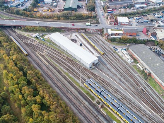 Metro Mayor recognises local workers and regional firms on completion of new raildepot