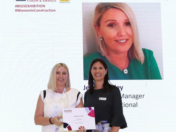Winners Of The Big 5's Women In Construction Awards And The Start-Up City Awards Announced