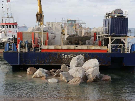 SeaRock provides protection to picturesque Dorset coast
