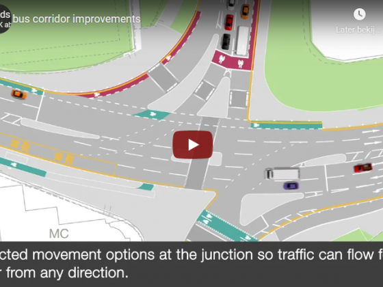 Animation shows how £16 million Connecting Leeds project will improve A647